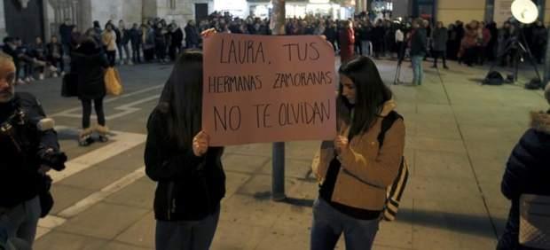 Concentraciones en El Campillo y Zamora en repulsa por la muerte de Laura Luelmo