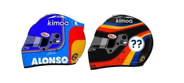 Fernando Alonso somete a referéndum su casco para las 500 Millas de Indianápolis