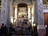 Betlem vertical en la parroquai de Sant Nicolau