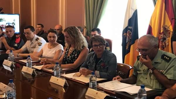 Delegada del Gobierno en Canarias, Elena Máñez