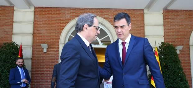 El Gobierno dice que este jueves habrá reunión entre Sánchez y Torra, pero la Generalitat no la ...