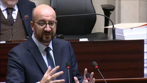 El primer ministro de Bélgica anuncia su dimisión