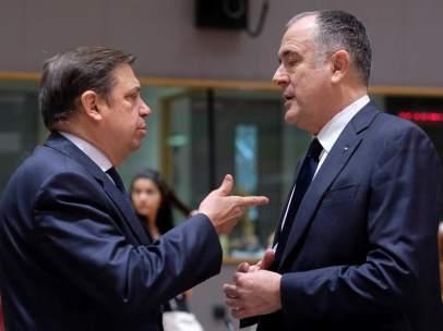 Luis Planas y Didier Guillaume