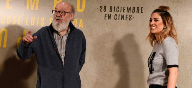 José Luis Cuerda y Blanca Suárez