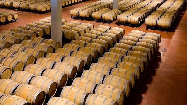 Barricas de vino.