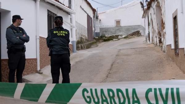 Calle donde vivía Laura Luelmo en El Campillo