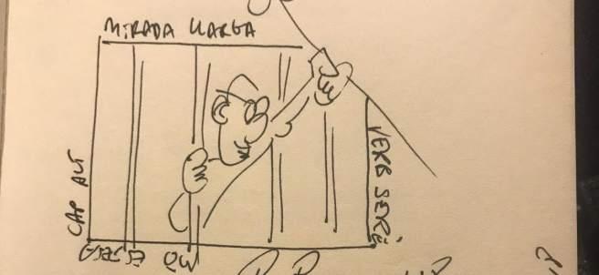 Dedicatoria de Raül Romeva para Pedro Sánchez.