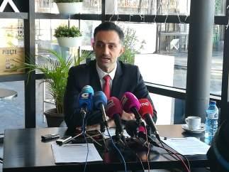 El portavoz de la CE en España, Ioannis Virvilis