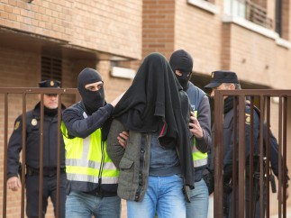 Detenido el presunto yihadista en Vitoria