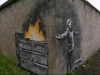 Nuevo grafiti de Banksy