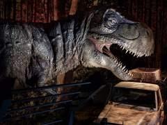 Un T-Rex en 'Jurassic World Exhibition'