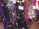 Adornos de Navidad, luces, iluminación, navidades