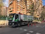 Camión antiguo de Medio Ambiente