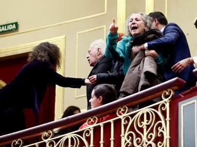 Desalojo en el Congreso