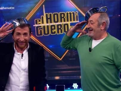 Karlos Arguiñano, en 'El hormiguero'.