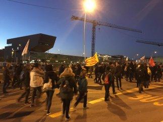 Manifestación por les Glòries