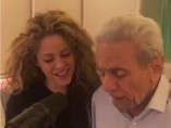 Shakira y su padre