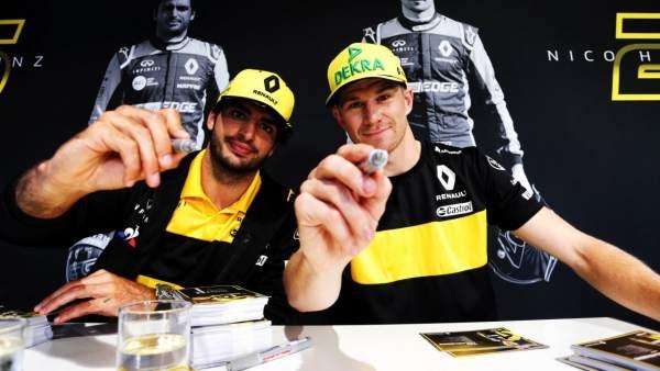 Carlos Sainz y Nico Hülkenberg
