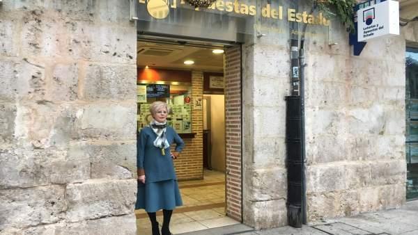 La responsable de la Administración 7 de Burgos 22-12-2018