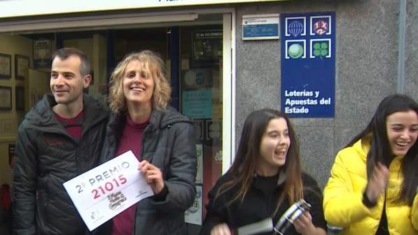 Los premiados de Castellbisbal lo celebran a ritmo de batukada