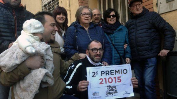 Alegría en Almansa con el segundo premio de Navidad 2018