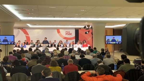 Gonzalo Caballero interviene en el Comité Nacional del PSdeG