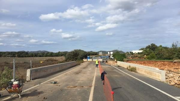 Puente reabierto de s'Illot