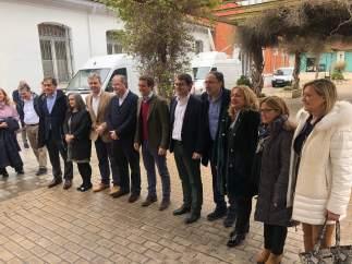 Palencia. Candidatos Pablo Casado