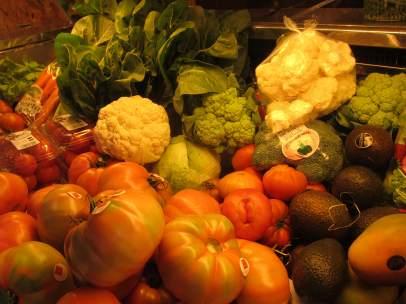 Verdura, fruta, hortalizas, mercado, cáncer, prevención, alimentación