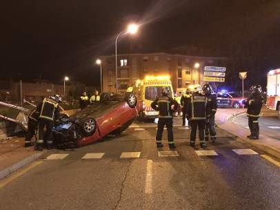Accidente en Alcalá de Henares