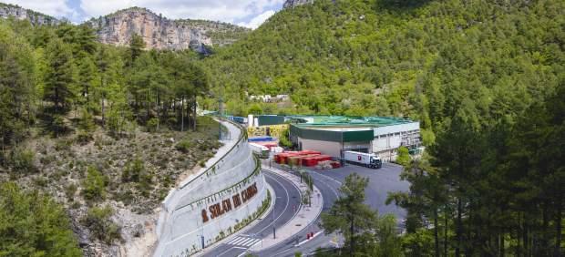 Fábrica Mahou-San Miguel en Beteta