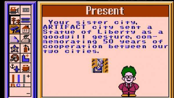 'SimCity' de 8 bits para NES