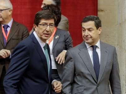 Constitución del nuevo Parlamento andaluz