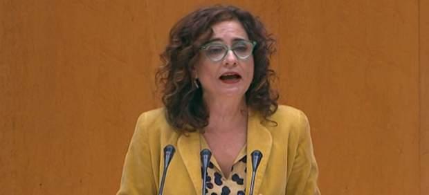 María José Montero, ministra de Hacienda.