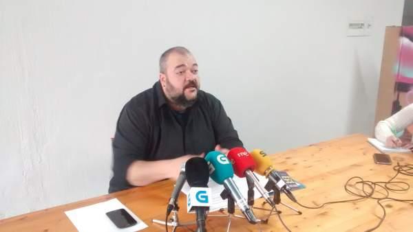 Miembro de la comisión de garantías de En Marea, Manuel Nogueira