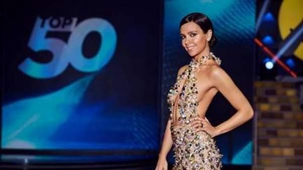 Cristina Pedroche, en 'TOP 50: las canciones de nuestra vida'.