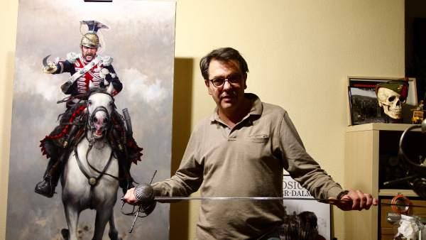 Augusto Ferrer-Dalmau, 'el pintor de batallas'