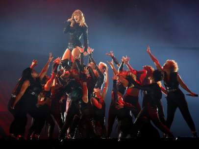 Taylor Swift durante su 'Reputation Stadium Tour'