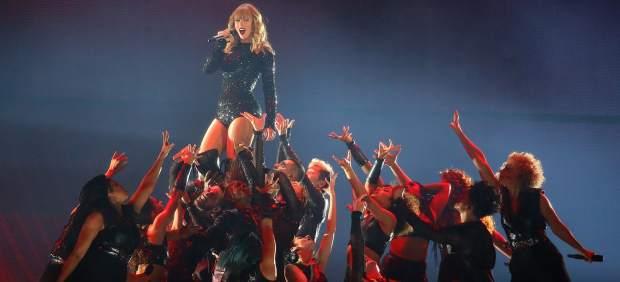 Taylor Swift durante su 'Reputation Stadium Tour'