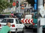 Tram d'Alacant en la calle