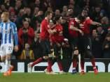 Manchester United vs. Huddersfield.