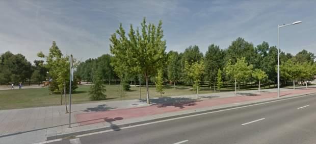 Vista de las inmediaciones del Parc de l'Aigua de Lleida.