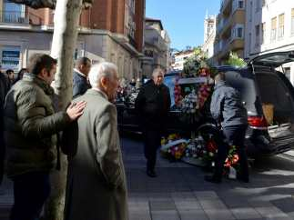 Funeral del actor Cesáreo Estébanez, el sargento Romerales de 'Farmacia de guardia'