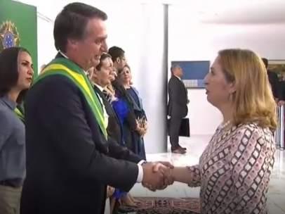 Ana Pastor, en Brasilia
