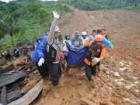 Indonesia corrimiento tierra