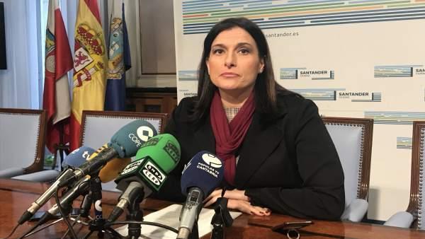 La alcaldesa de Santander, Gema Igual (PP)