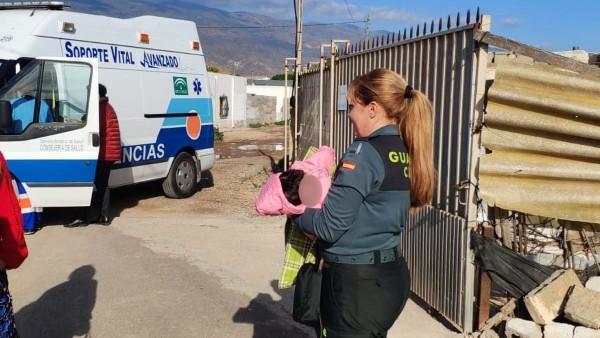 La Guardia Civil interviene ante cuatro menores en mala situación en El Ejido