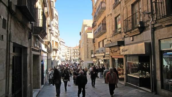 Calle Toro de Salamanca