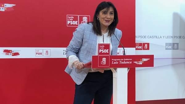 Valladolid. Secretaria de Organización del PSOE, Ana Sánchez