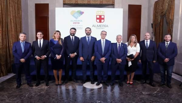 Presentación en Madrid de la capitalidad gastronómica 2019